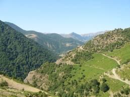Fig. 2 : Haute vallée de la Lakerçay. ©Mission du Lenkoran