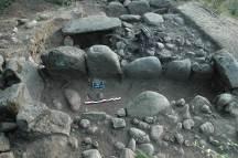 Fig. 9 : Kravéladi IV : le grand tumulus à la fin de la fouille. ©Mission du Lenkoran