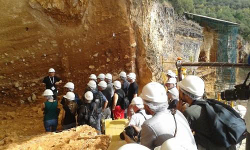 Fig. 10 : le site de Gran Dolina, Atapuerca