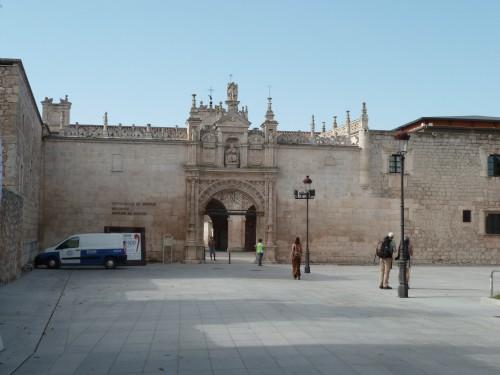 L'entrée de l'Université de Burgos
