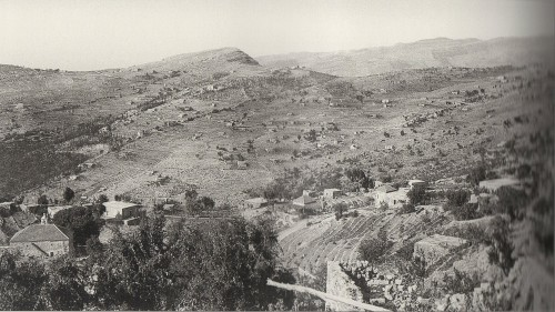 Fig. 3 - Vue sur Ghbale dans les années 1920-30.