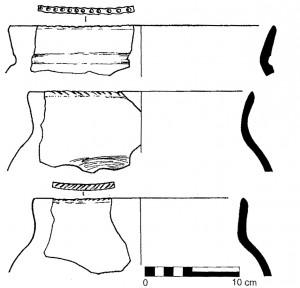 Fig. 4 : Vessels from Sioni (Georgia) (Kiguradze and Sagona 2003)