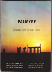 Livre Palmyre-histoire-monuments-musee