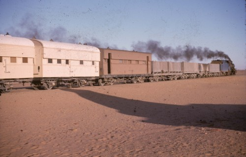 Fig.6 : Train de Khartoum à Wadi Halfa
