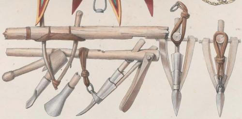 Fig. 3 : Harnais et instruments de labour. ©Ch.-Th. Lefebvre, 1845
