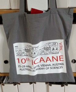 Fig. 1 : le logo du 10e ICAANE.