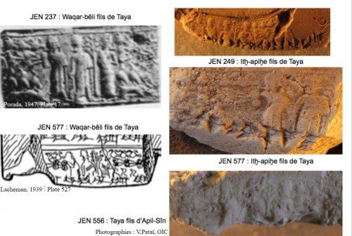 Fig. 6 : Po 309 sur les tablettes JEN 237, JEN 249, JEN 556, JEN 577 et JEN 714, © V. Pataï.