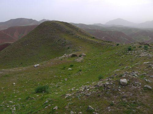 Fig. 4 : Le rempart de Cheshme-Shafa (© DAFA)