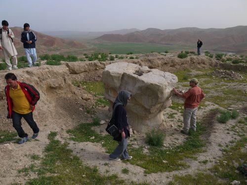 Fig. 5 : L'autel du feu de Cheshme-Shafa (© DAFA)