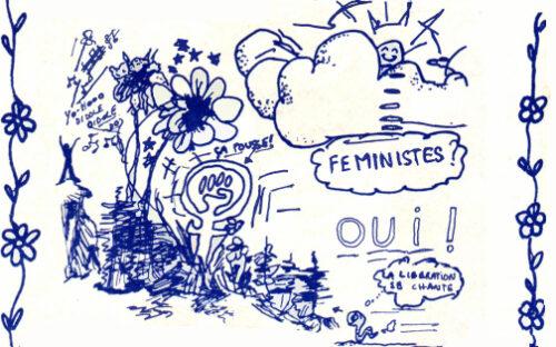 Féministes oui - Détail Le Torchon brûle numéro 5, p. 8