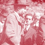 Max Weber während einer Tagung auf Burg Lauenstein/Thüringen (bpk, Bild-Nr. 10005704)