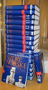 Druckausgabe des Store Norske Leksikon