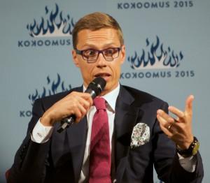 Alexander Stubb, seit dem 24.6.2014 finnischer Ministerpräsident Flickr, CC-BY-NC-ND Ville Oksanen