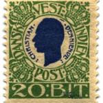 Briefmarke aus Dänisch-Westindien 1905 von Scan by Stan Shebs. Lizenziert unter Gemeinfrei über Wikimedia Commons - http://commons.wikimedia.org/wiki/File:Stamp_Danish_West_Indies_1905_20b.jpg#/media/File:Stamp_Danish_West_Indies_1905_20b.jpg