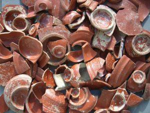 Port-la-Nautique : sigillées provenant de Millau trouvées en grande quantité