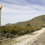 Promenade aménagée sur le barrage de Canales (Vallée du Genil)