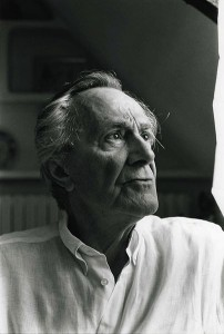 Jean-Francois Lyotard photographed by: Bracha Ettinger ©1995