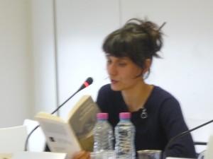 Rencontre du 07 décembre 2011 « Autour de Au-dessus de la plaine ». Claire Gatineau, Dominique Dolmieu, Eugenia Vilela.