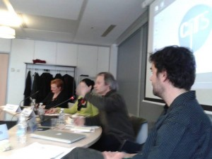 Rencontre du 07 mars 2012 : « Traduire : figures du rythme, figures non traduites ». André Markowicz, Béatrice Gonzales-Vangell, Arno Renken.