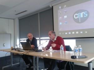 Séminaire «L'expérience de l'exil», Collège d'études mondiales, 20 février 2013, séance inaugurale. Alexis Nuselovici (Nouss), Michel Wieviorka.