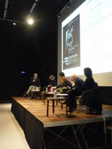 Journée d'étude du 29 mars 2013. Le théâtre et l'exil (NLE/Paris 3/Théâtre aux mains nues/Médiathèque M. Duras)