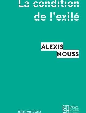 «La condition de l'exilé.» Présentation au Comptoir des Presses, 25 novembre 2015