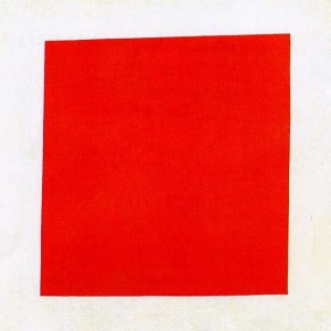 "Malevitch ""Carré rouge"" (1915)"