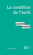 Présentation «La condition de l'exilé», 11 janvier 2015, 19h30