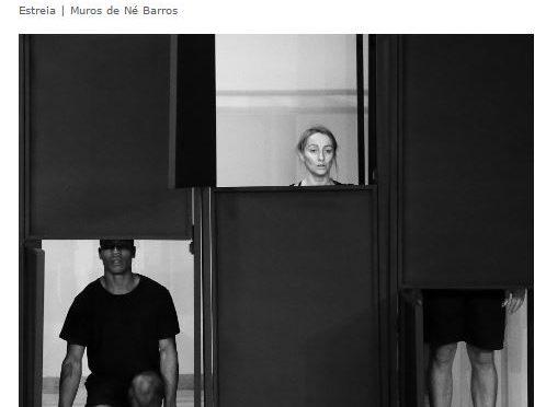 MUROS de Né Barros / TEATRO NACIONAL SÃO JOÃO, partenariat Non-lieux de l'exil