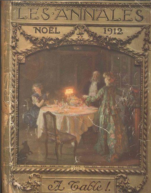 Les trésors de la médiathèque : les annales de 1912, «A table !»