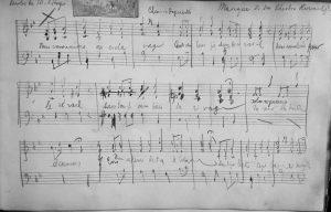 Figure 1 : 1 MOM 23 - Composition et devoirs musicaux, Théodore Reinach - Mariage de don Théodore Reinach.