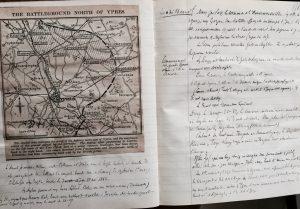 Figuer 4 : 1 MOM 30 - Chronologie de la Guerre. Mars-Juillet 1915. p. 58.