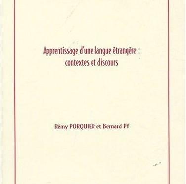Inspiration de l'ouvrage Apprentissage d'une langue étrangère sur la conception des exercices articulatoires