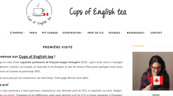 Besoin d'air ? Let's have a cup of English tea !