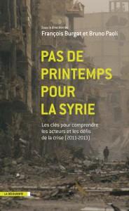 Ouvrage Burgat Paoli Pas de printemps pour la Syrie