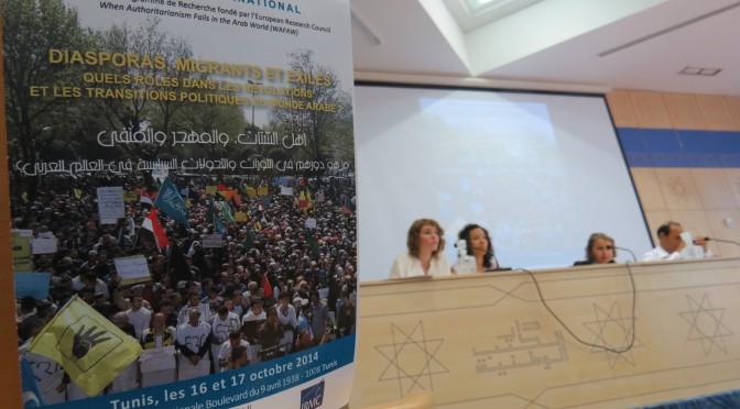 Révolutions arabes à distance : redessiner les contours de l'engagement des diasporas, exilés et migrants dans le monde arabe