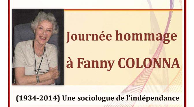 Fanny Colonna et les sciences humaines et sociales algériennes : une utopie en marche