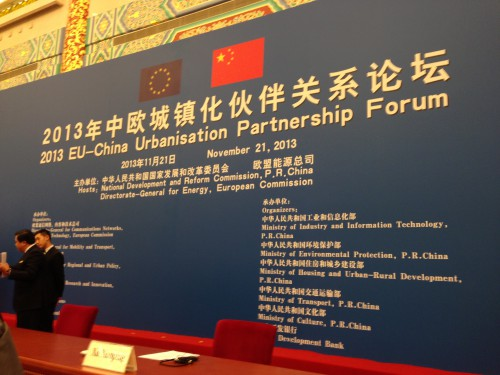 EU China summit