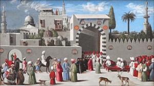 Anonyme-vénitien-Délégation-vénitienne-à-Damas-XVe-siècle-Paris-Louvre
