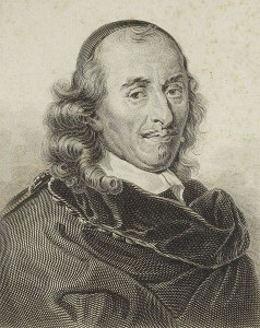 From Wikipedia; source: Bibliothèque nationale de France. http://commons.wikimedia.org/wiki/File:Gravure_Pierre_Corneille.jpg (public domain)