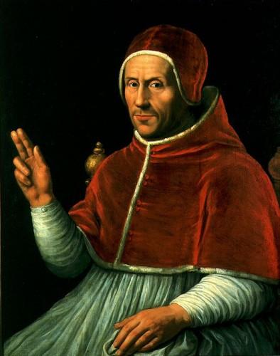 Papst Hadrian VI. (Jan van Scorel, 17. Jhd.). Quelle: wikimedia commons.