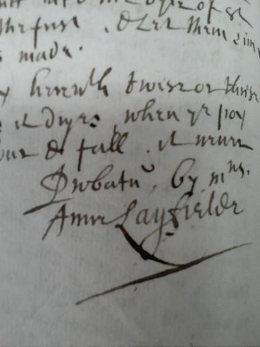 Probatum Anne Layfield