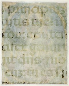 Worn Text from London, BL Add. 39636, f. 1v (www.bl.uk). Used under creative commons licence.