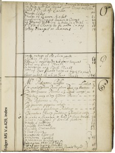Cookery and medicinal recipes, ca. 1675-ca. 1750