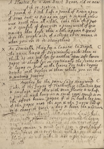 Honywood recipe in St John copy