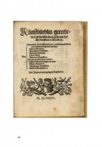 16th century recipe book