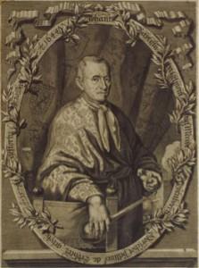Portrait of Jan Baptista Van Helmont; frontispiece in J. B. van Helmont, Aufgang der Artzney-Kunst, translated by Christian Knorr von Rosenroth, Sulzbach 1683