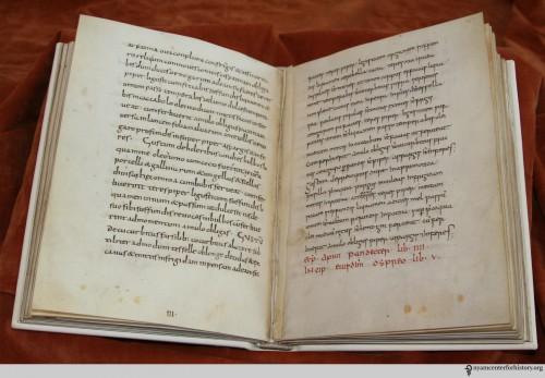 9th-century manuscript De re culininaria (sometimes De re coquinaria), attributed to Apicius