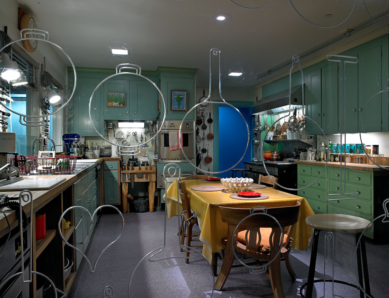 Julia Child's Kitchen new installation