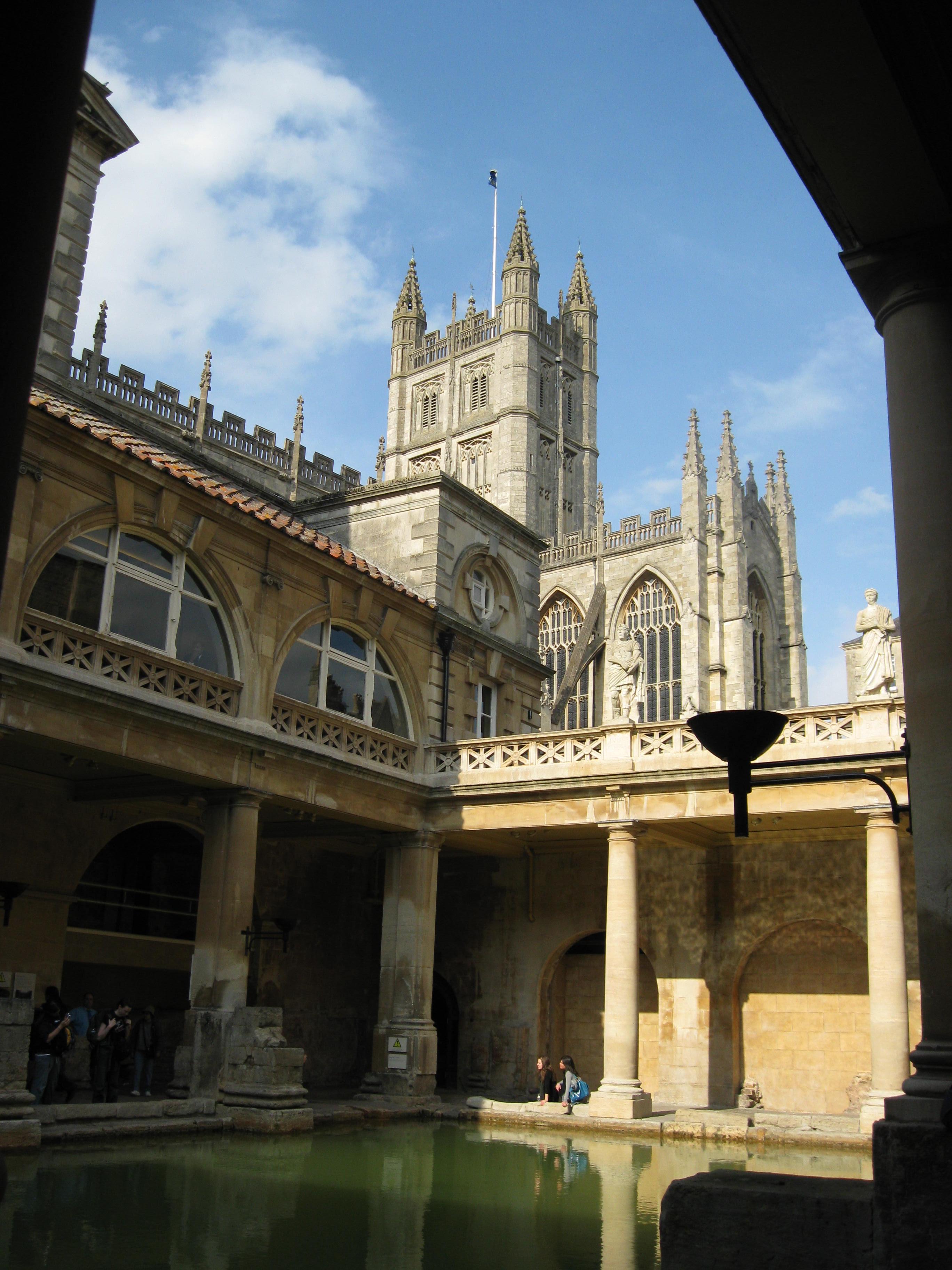 Roman Baths. Image Credit: Katherine Allen
